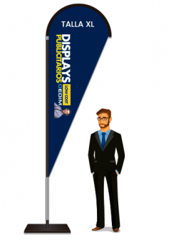 Fly Banner tipo gota