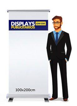 Roll up publicitario 100x200 cm.