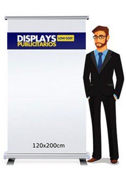 Roll up publicitario 120x200 cm.