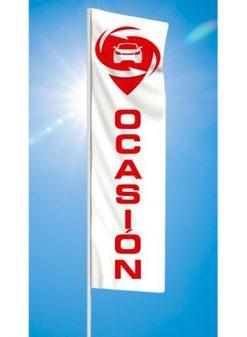 Bandera publicitaria para automoción