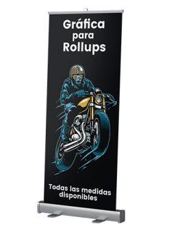 Lona roll up publicitario