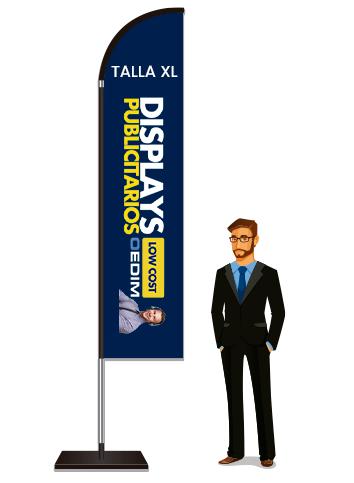 Fly Banner Tipo Vela Talla XL