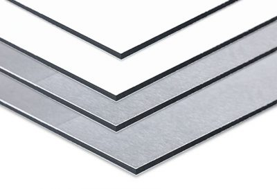 Rótulo aluminio dibond